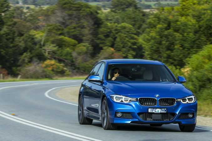 2016 BMW 330e. Photo: Mark Bean