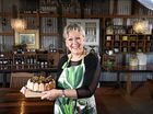 Down Convrey's Lane and The Edible Garden Cafe Restaurant co-owner Kim Kratz has turned her passion for antiques into a novel setting for a cafe and restaurant.