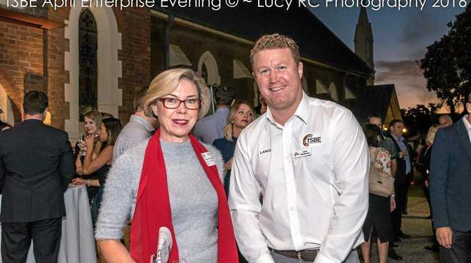 Michele Berkhout from TAFE Queensland South West chats with Lance MacManus from TSBE.
