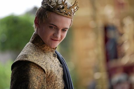 Jack Gleeson in a scene from the TV series Game of Thrones. Supplied by Foxtel publicity.