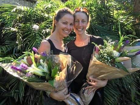 Bangalow theatre Company founders Anouska Gammon and Adrienne Lester.