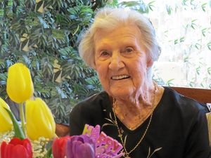 Centenarian's simple secret to an extraordinary life