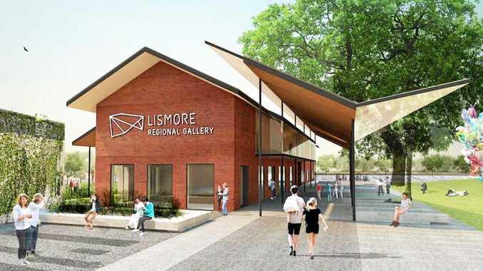 Architectural concept plans for the Lismore Quadrangle