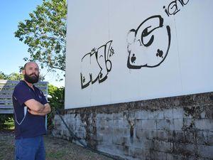 Graffiti vandals strike again