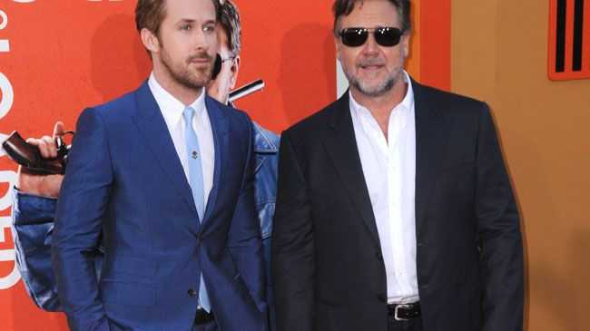 Ryan Gosling and Russell Crowe star in new buddy cop film The Nice Guys.