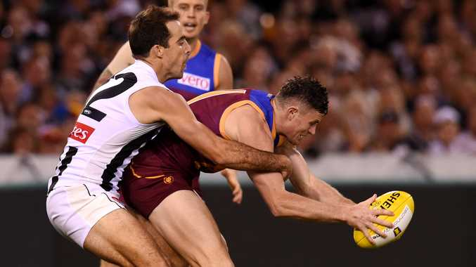 The Brisbane Lions did nothing to help the cause of AFL in Queensland. Photo: AAP Image.
