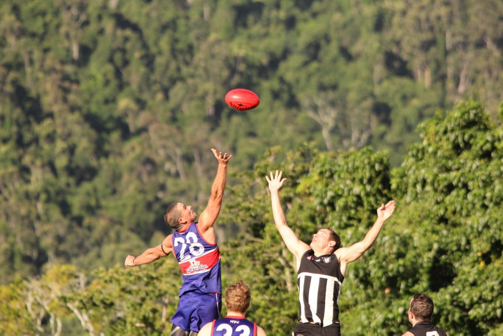 Sea Eagles beat Magpies 146 to 38.Photo Peter Carruthers / Whitsunday Times