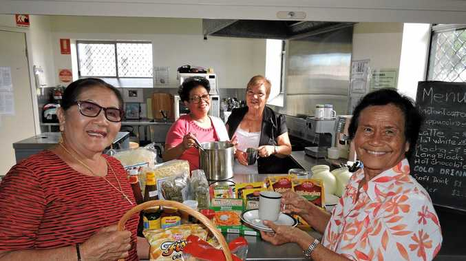 HELP WITH MOVE: Seniors Asian Women's Development Program members (from left) Fe Linortner, Julie Leck, Ramona Zanger and Rory Proctor   at   Maryborough Neighbourhood Centre.