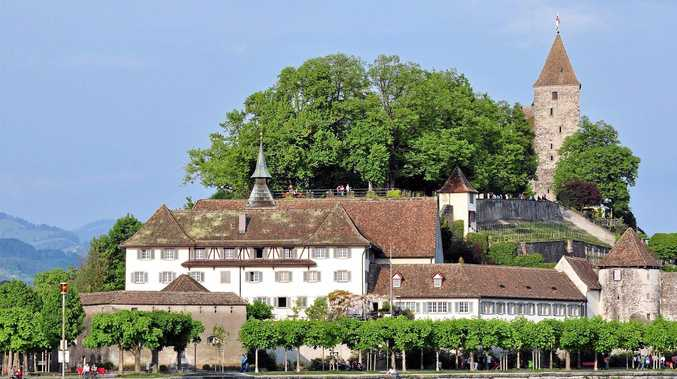 The Capuchin Monastery in Rapperswil, Switzerland.