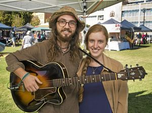 Civic Precinct is hive of activity with markets, cafe