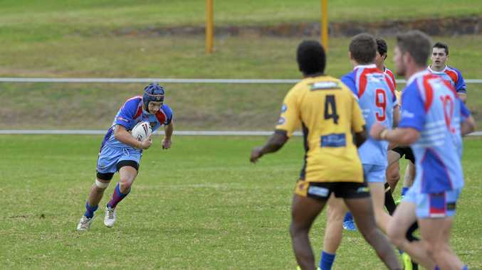 TRY SCORER: Clydesdales under 20s player Jazz Namana.