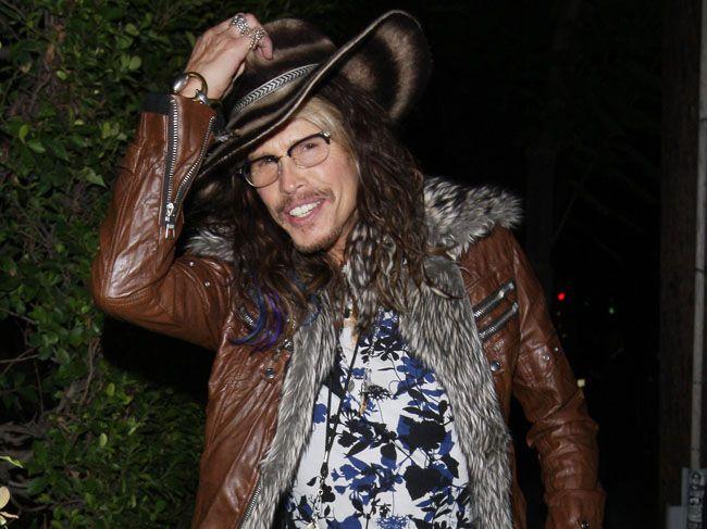 Aerosmith singer Steven Tyler.