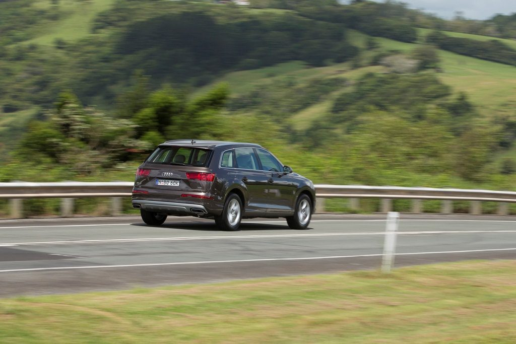 The Audi Q7 3.0 TDI 160kW.