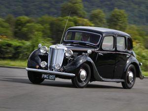 Classic Car: 1951 MG YA Saloon