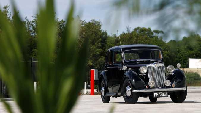 Frank Carroll's 1951 MG YA. Photo: Iain Curry / Sunshine Coast Daily
