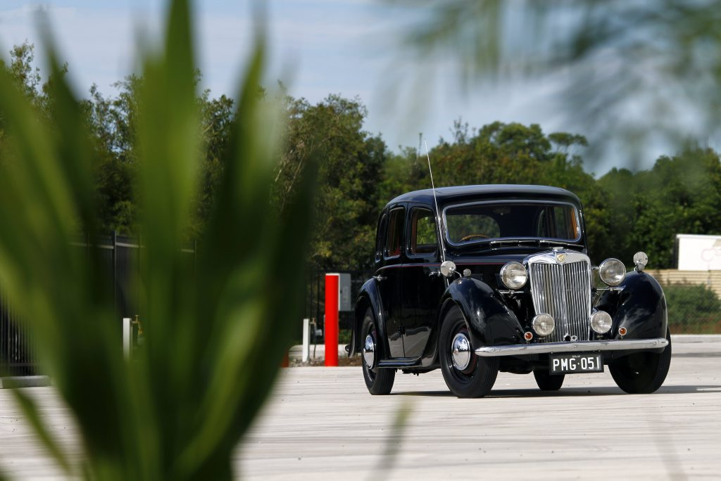 Frank Carroll's 1951 MG YA. Photo: Iain Curry / Sunshine Coast Daily