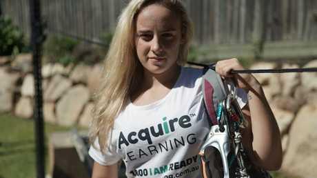 Alyssa Azar is determined to climb Mt Everest again.