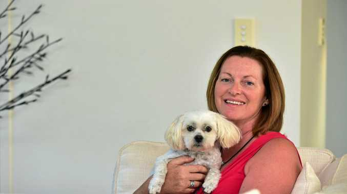 SLOW RECOVERY: Stroke survivor Shelagh Brennand has found great comfort from writing poems about the frustrations and sadness of her recovery.