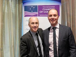 Financial guru praises Toowoomba's diverse economy