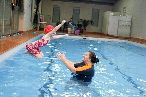Swimming lessons at the Summit Sports & Fitness Centre, Lismore.