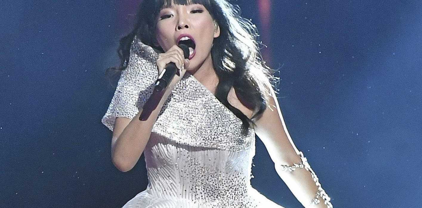 Australia's Dami Im made her country proud.
