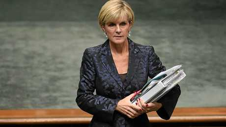 Australian Foreign Minister Julie Bishop is now preferred by voters, ahead of Prime Minister Malcolm Turnbull.