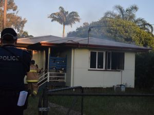 PHOTOS: 'Street full of people': Barney Point house blaze