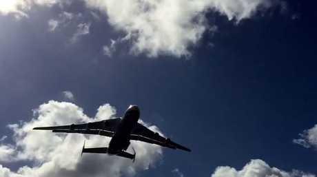 "The Antonov An-225 Mriya, meaning ""dream"" in Ukrainian."