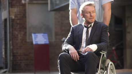 Richard Roxburgh in a scene from season four of Rake.