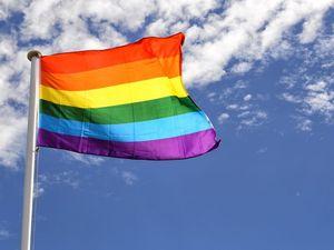Rainbow flag raised in Ipswich