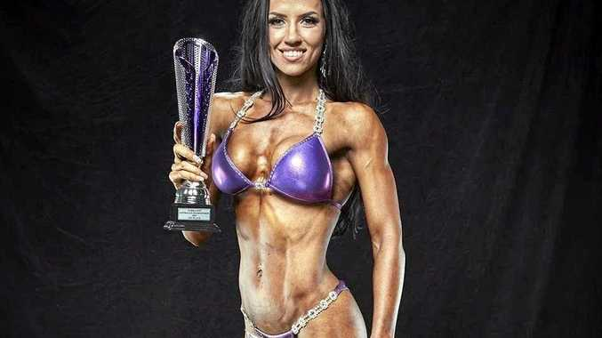 KICKING GOALS: Body builder Teanna Born is excited to be heading to Florida to compete in the WFF Universe Championships.