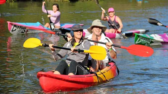 Brunswick Paddle on the Brunswick River. Photo Veda Dante / Byron Shire News