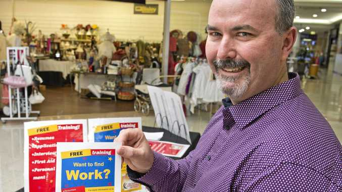 FREE TRAINING: Ben Neideck is hoping to help young people find work.