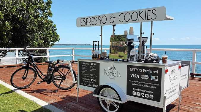 HOT BEVERAGES: Pedals Espresso is expanding throughout the Fraser Coast and beyond.