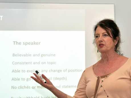 Sunshine Coast Business Council chairwoman Sandy Zubrinich.