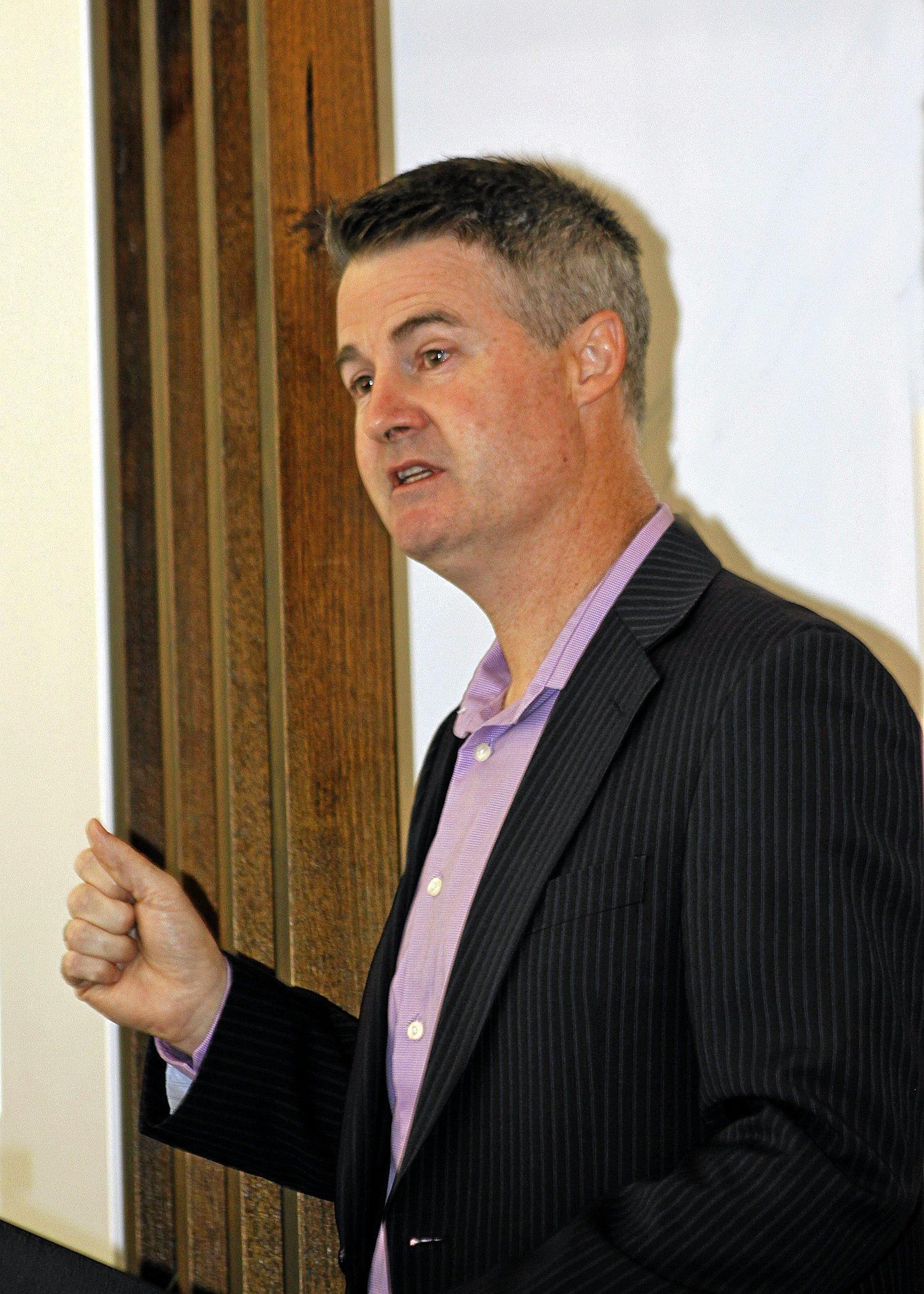 Urban Development Institute of Australia's Sunshine Coast president Andrew Stevens.
