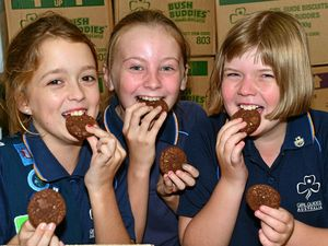 Girl guides serve up flavour in new range of biscuits