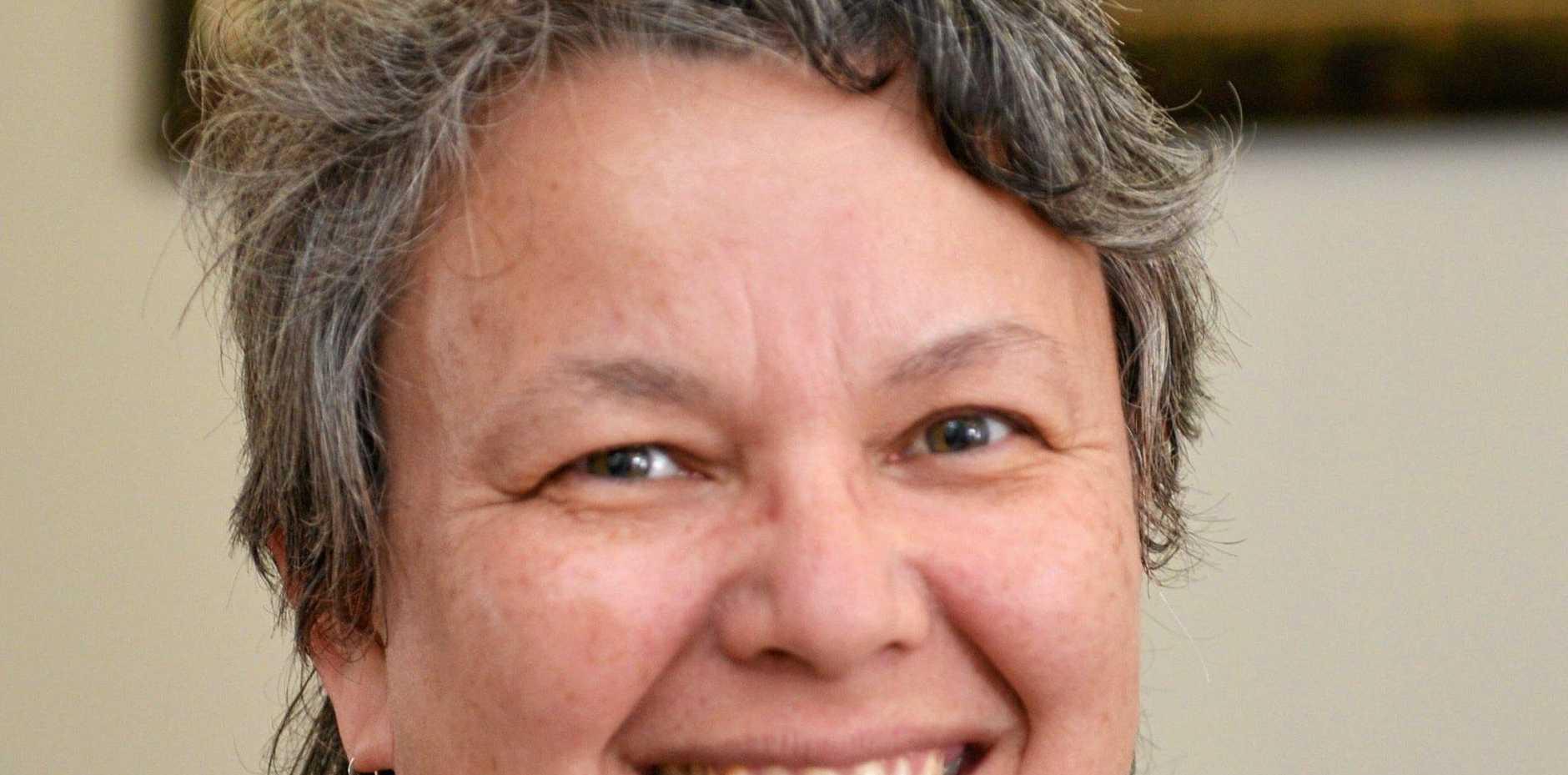 NEW PRESIDENT: Chamber president Sally Garrahy.