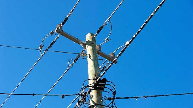 Power poles and wires  Photo Trevor Veale / Coffs Coast Advocate
