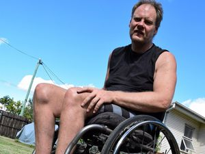Wheelchair-bound David drops 40kg