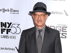 Tom Hanks: Becoming young dad stopped me falling off wagon