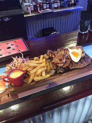 The Lionleigh Steakhouse's mixed grill.