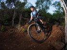 Ben Ruhle on one of the First Turkey Mountain Bike Trails. Photo Allan Reinikka / The Morning Bulletin