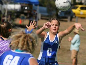 Junior netball stars shine on court