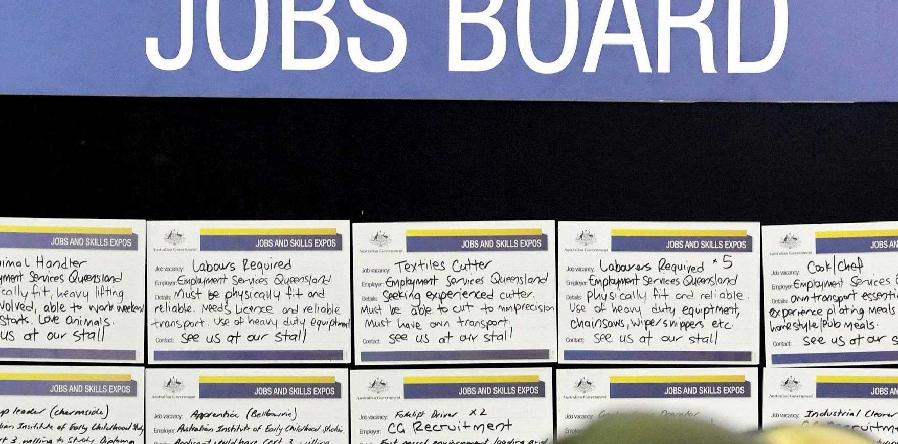 Jobseekers are urged to check out today's vacancies.