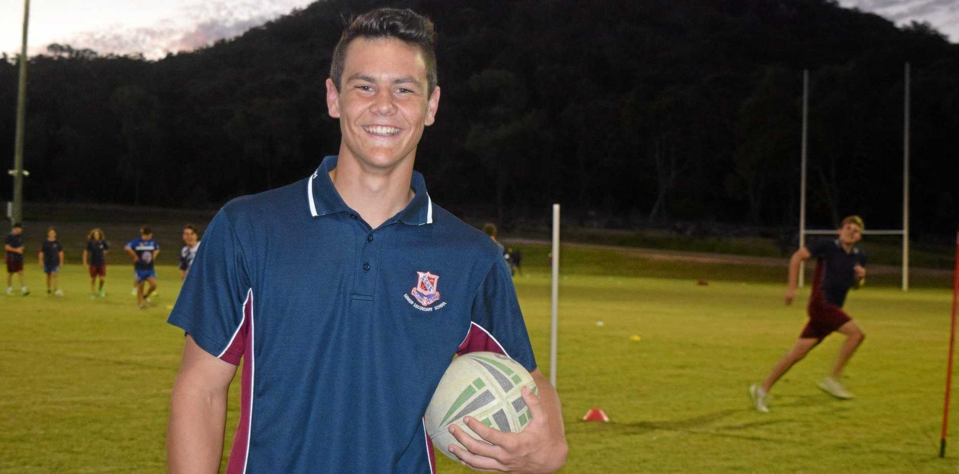 HIGH HONOUR: Matthew Murphy has become the first junior Stanthorpe Gremlin in two years to be selected in the South West Mustangs team.