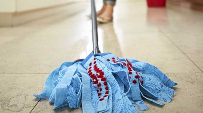 Would you mop up after your kid?