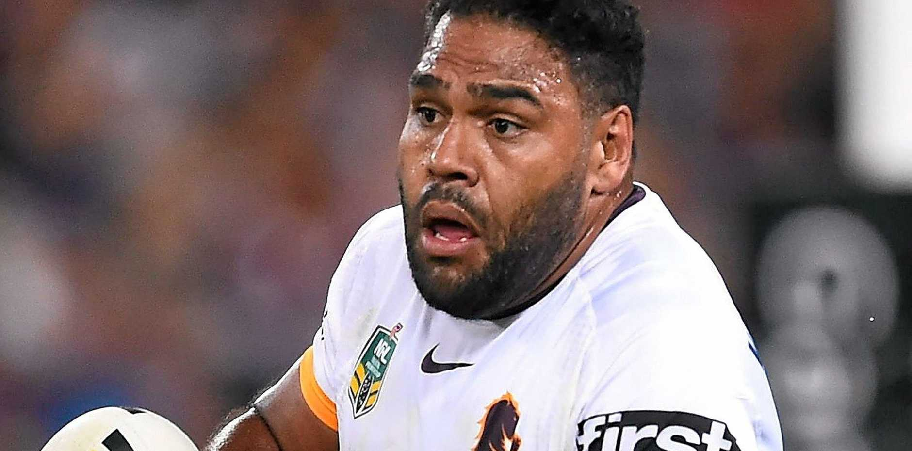 Sam Thaiday of the Broncos
