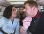 Demi Lovato and Nick Jonas in Carpool Karaoke