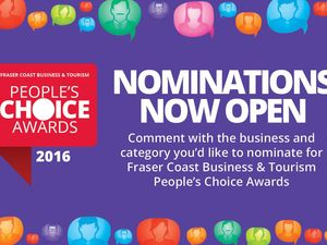 Nominations open for Business and People's Choice Awards